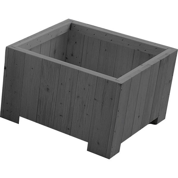 blumenkasten 40x40x30cm grau pflanzgef sse outdoor landi. Black Bedroom Furniture Sets. Home Design Ideas
