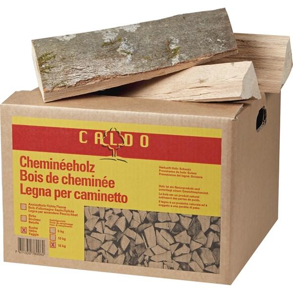 Bois de chemin e caldo 15 kg bois de chauffage landi for Pouvoir calorifique bois de chauffage