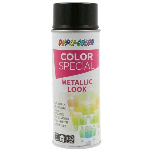 spray metallic schwarz 400 ml farben lacke landi. Black Bedroom Furniture Sets. Home Design Ideas