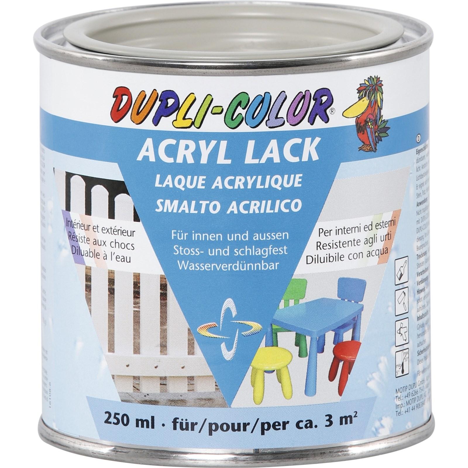 Laque Acrylique 250 Ml Couleurs Peintures Landi