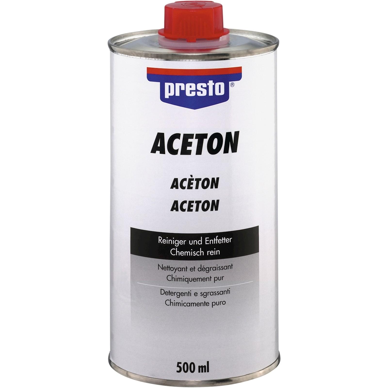 Sehr Aceton 500 ml - Farben / Lacke - LANDI QP83