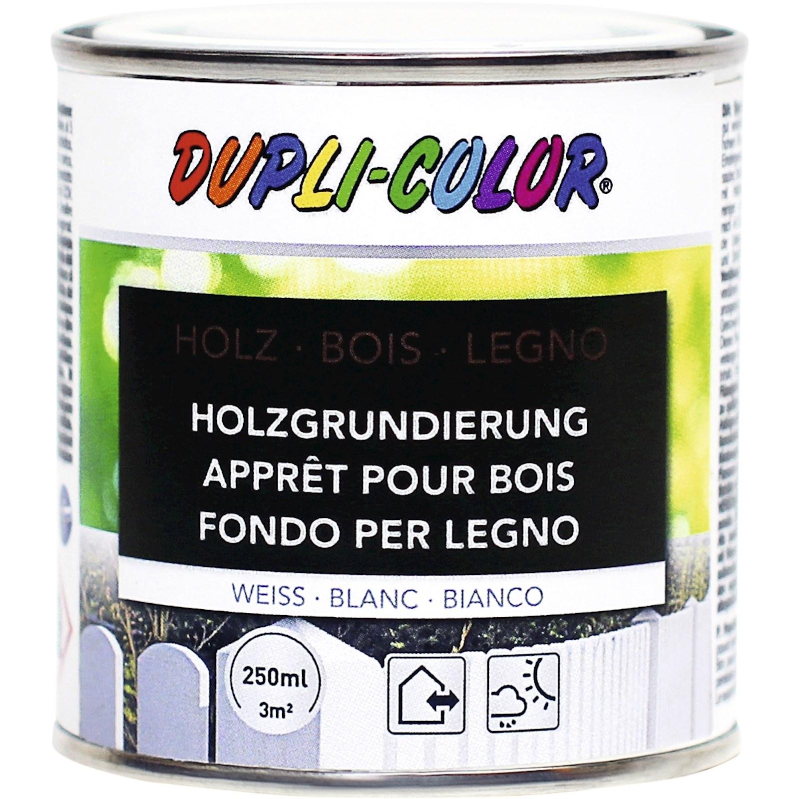 apprêt pour bois blanc 250 ml - protection du bois - landi