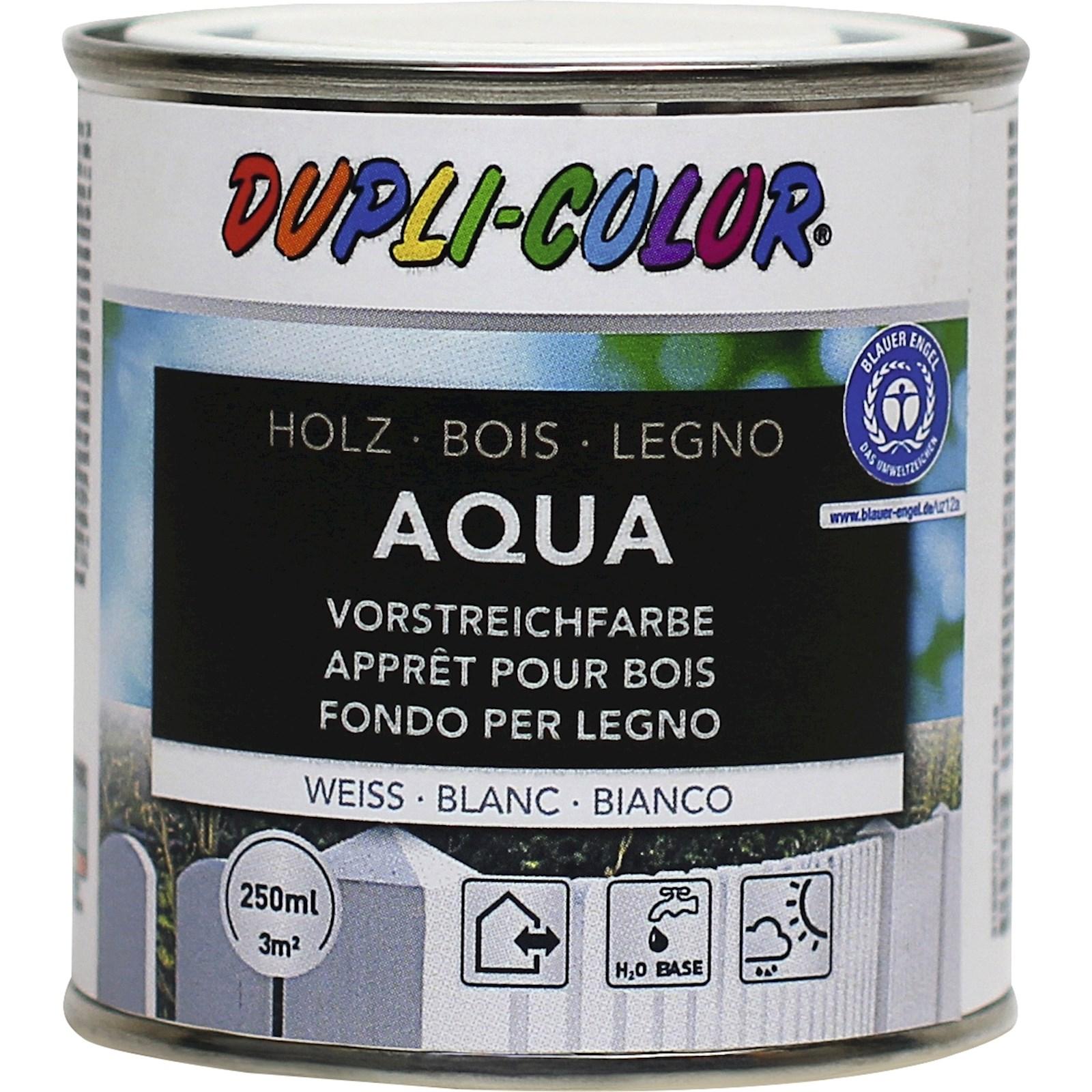 appret pour bois aqua blanc 250 ml - protection du bois - landi
