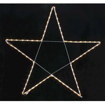 Lichtschlauch Stern 110 cm 90LED