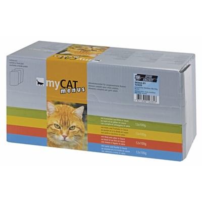Katzenfutter nass Multibox 48×100g