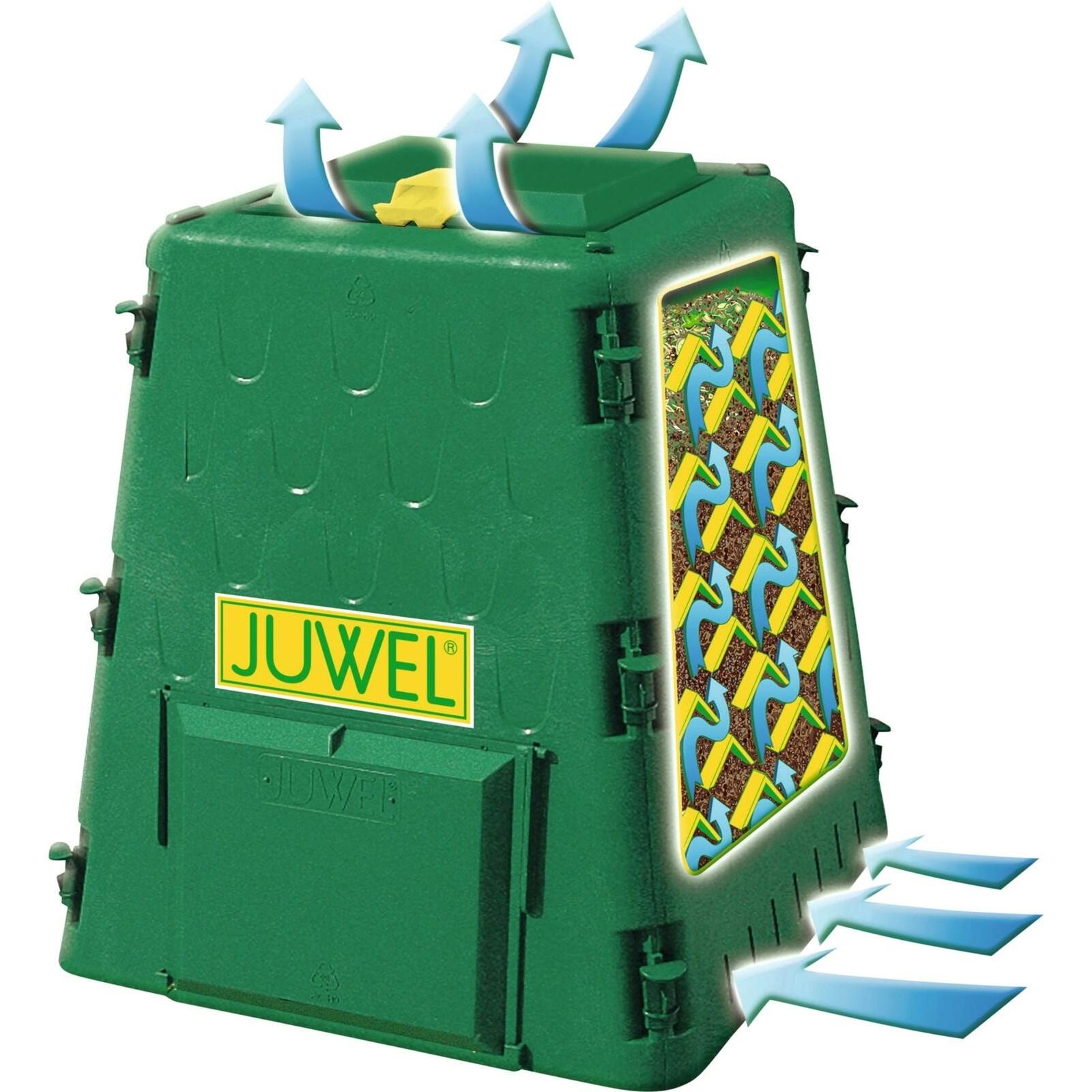 thermo-komposter recycling 290 l - kompostieren - landi