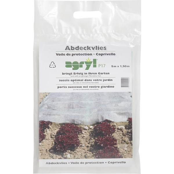 Voile protection agryl 1,5 × 5 m