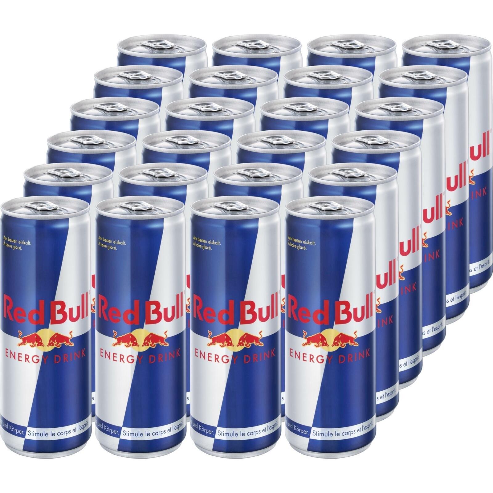 Energy Drink Red Bull Dose 24×25cl - Energy Drinks - LANDI