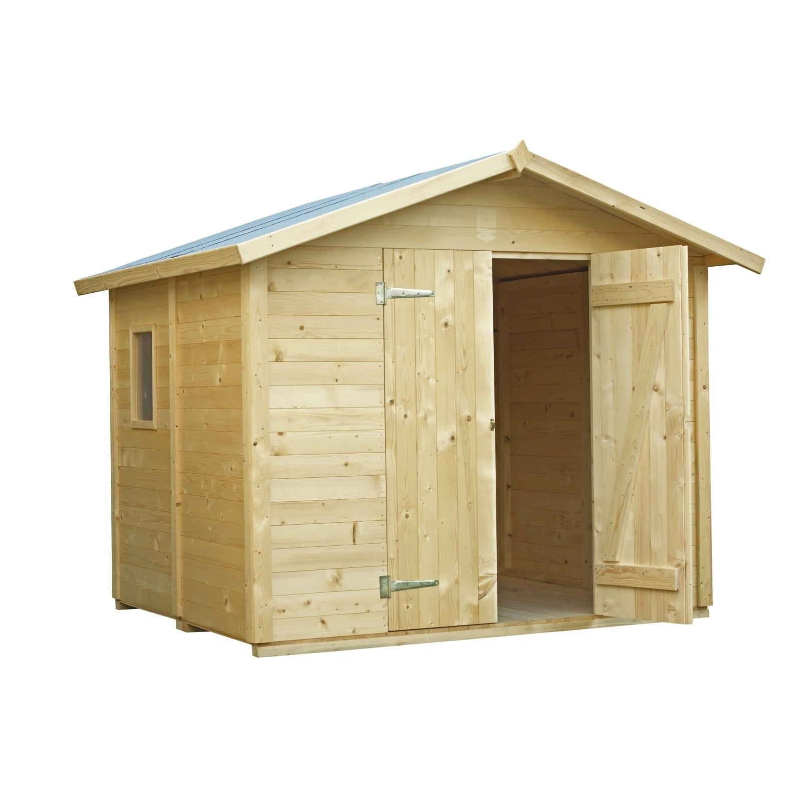 Maison préfabr. 237×200×220cm - Abris de jardin- /d ...