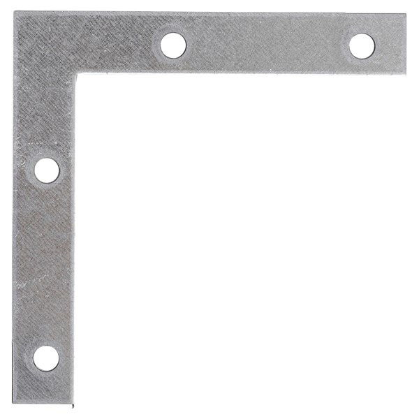 Equerre plate 100 × 100 × 15 mm