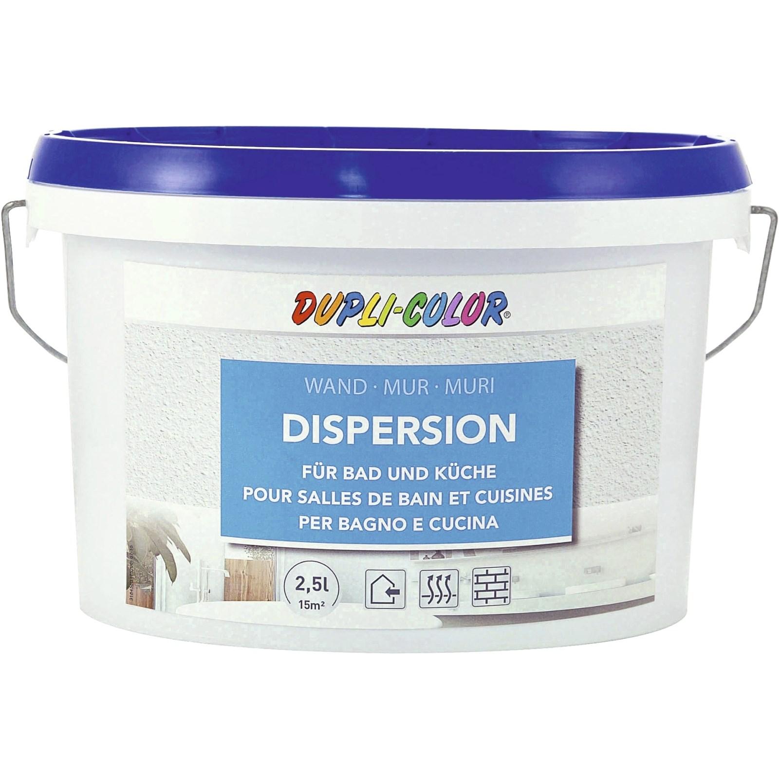 Bad- Und Küchenfarbe Weiss 2,5 L