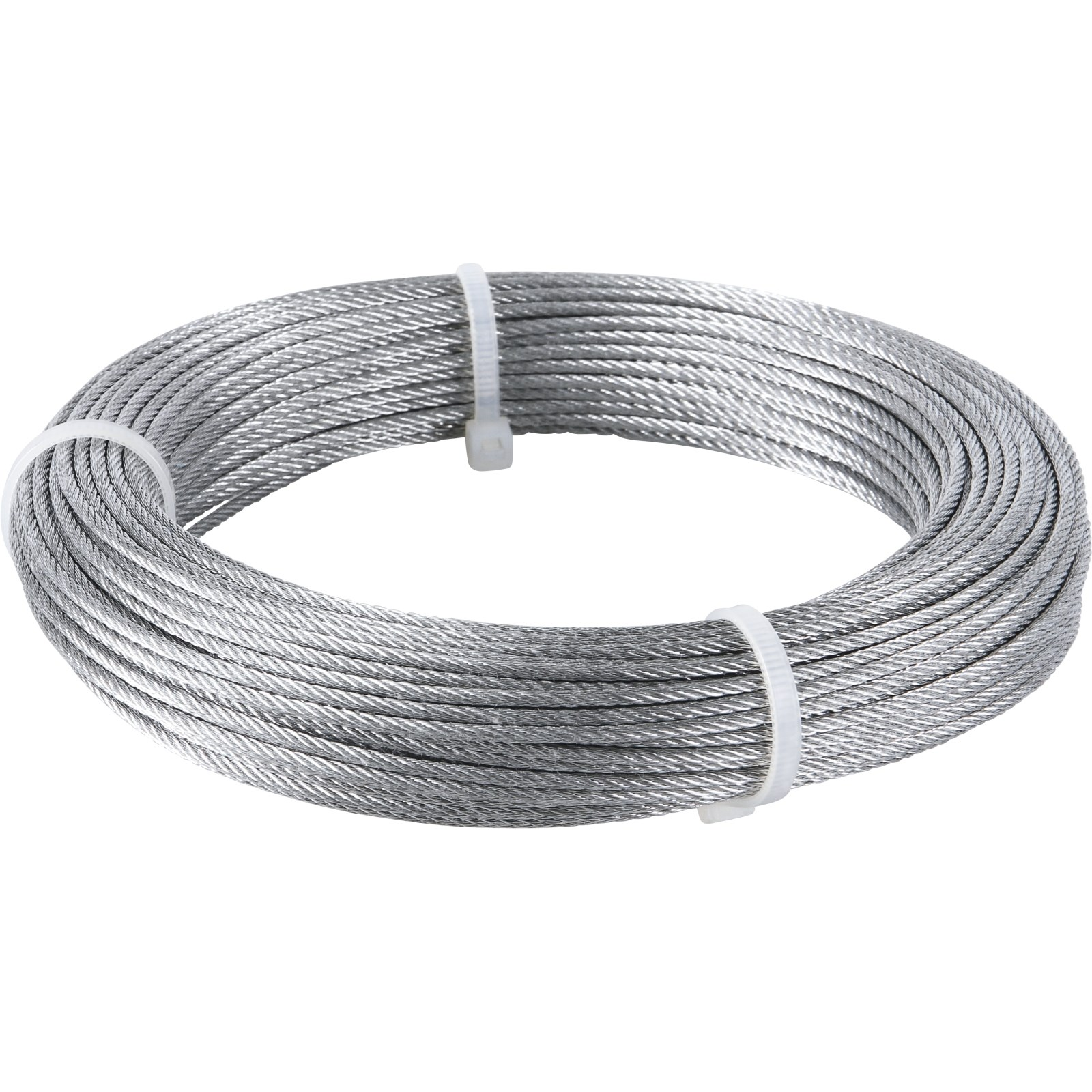 Drahtseil Stahl verzinkt 2mm×30m - Ketten und Seile - LANDI