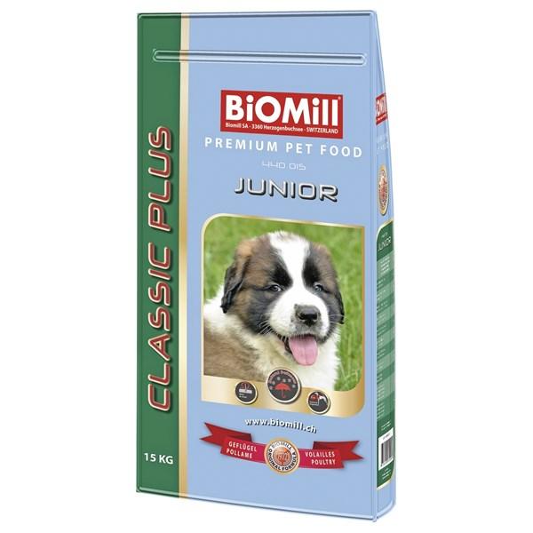 hundefutter junior biomill 15 kg hund trockennnahrung landi. Black Bedroom Furniture Sets. Home Design Ideas