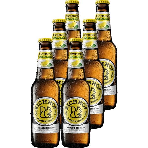 bier eichhof radler 6 33 cl biere mit alkohol landi. Black Bedroom Furniture Sets. Home Design Ideas