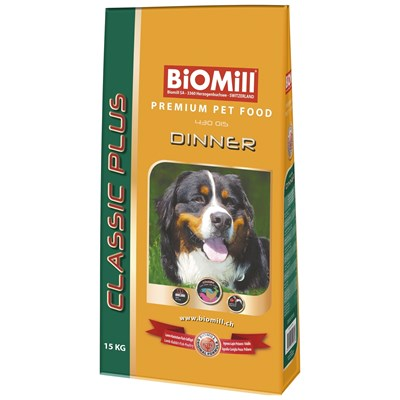 Hundefutter Dinner Biomill 15 kg