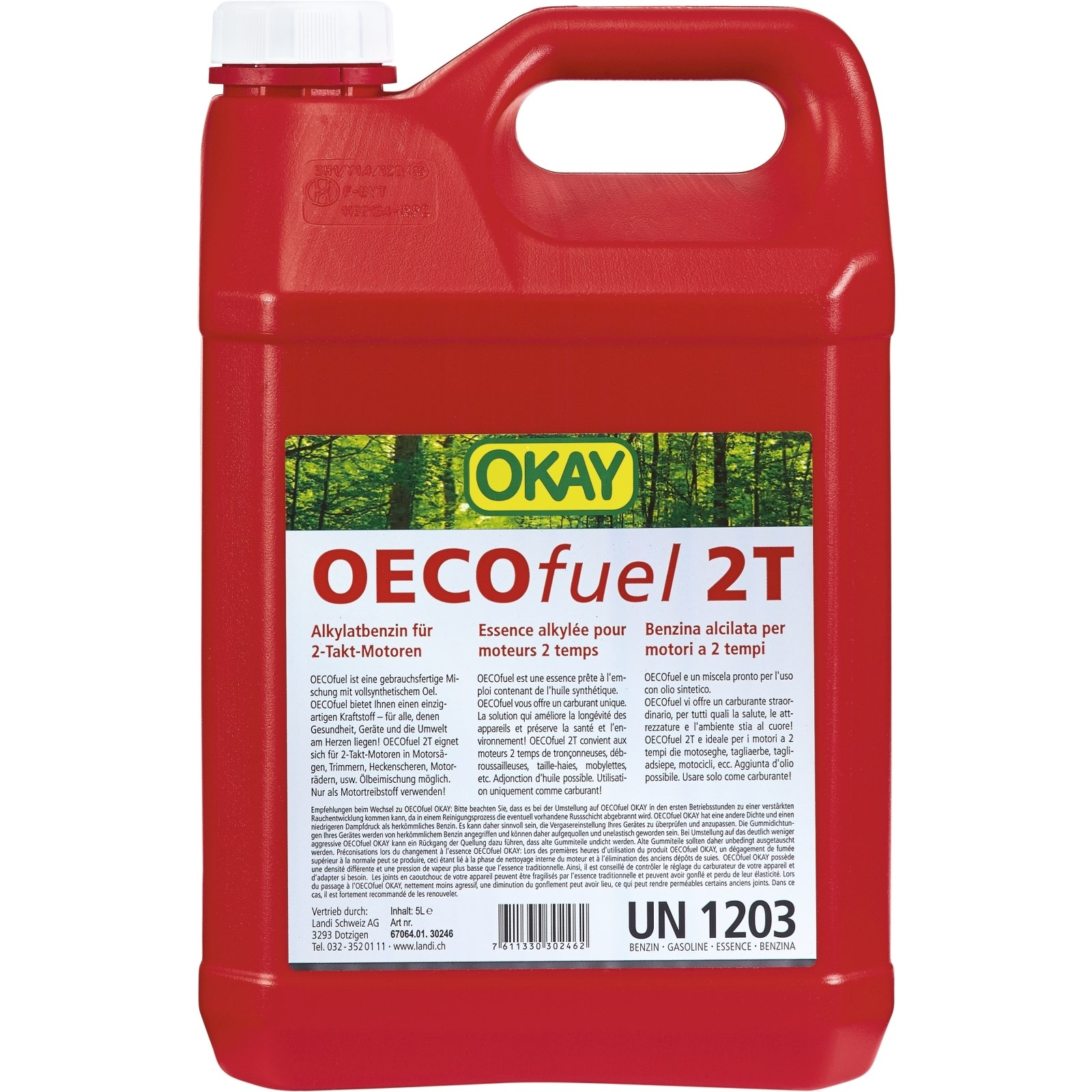 Oecofuel 2 Takt Okay 5 L