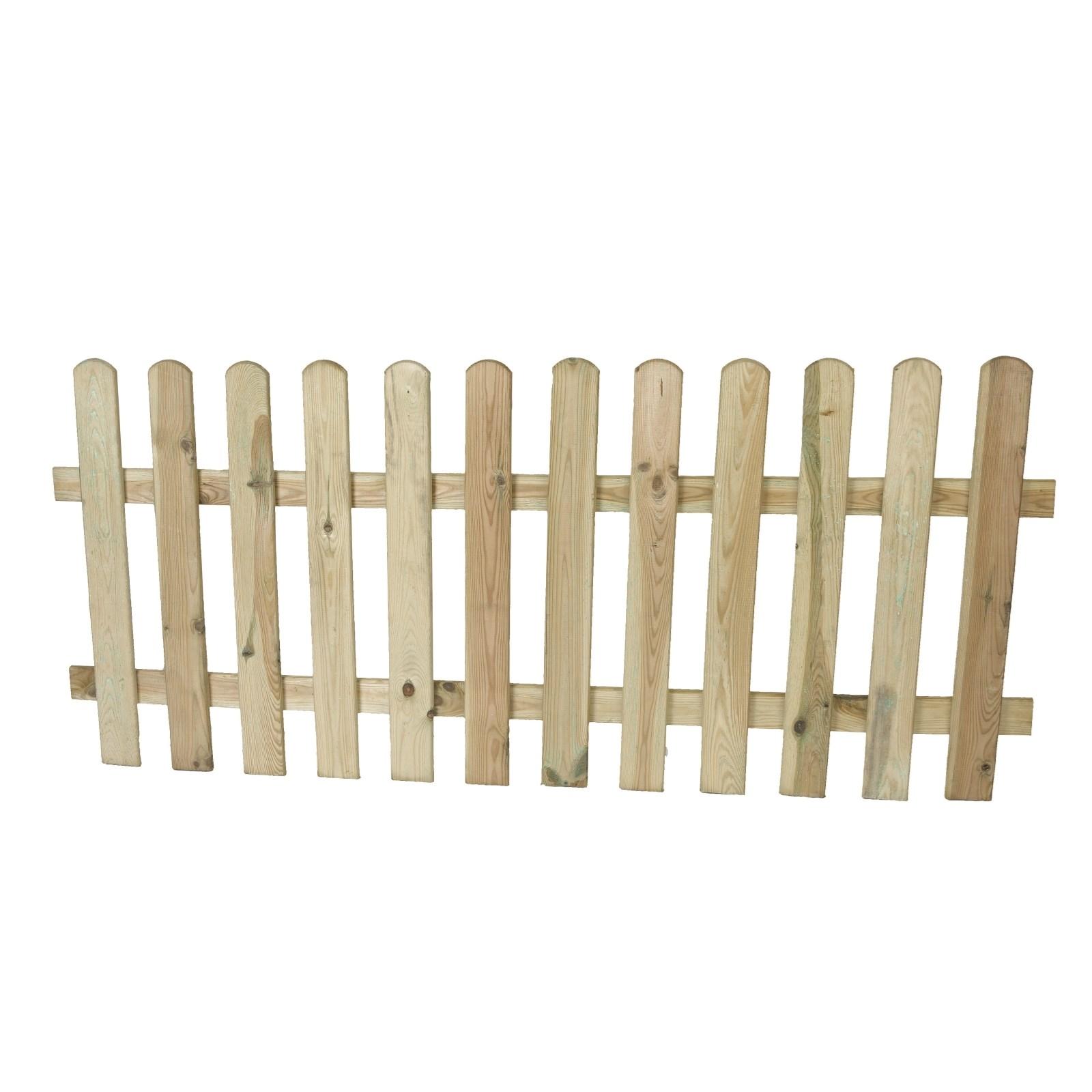 staketenzaun 80 × 180 cm - holzzäune - landi
