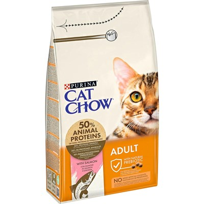 Aliment p. chats Adult pois. 1,5 kg