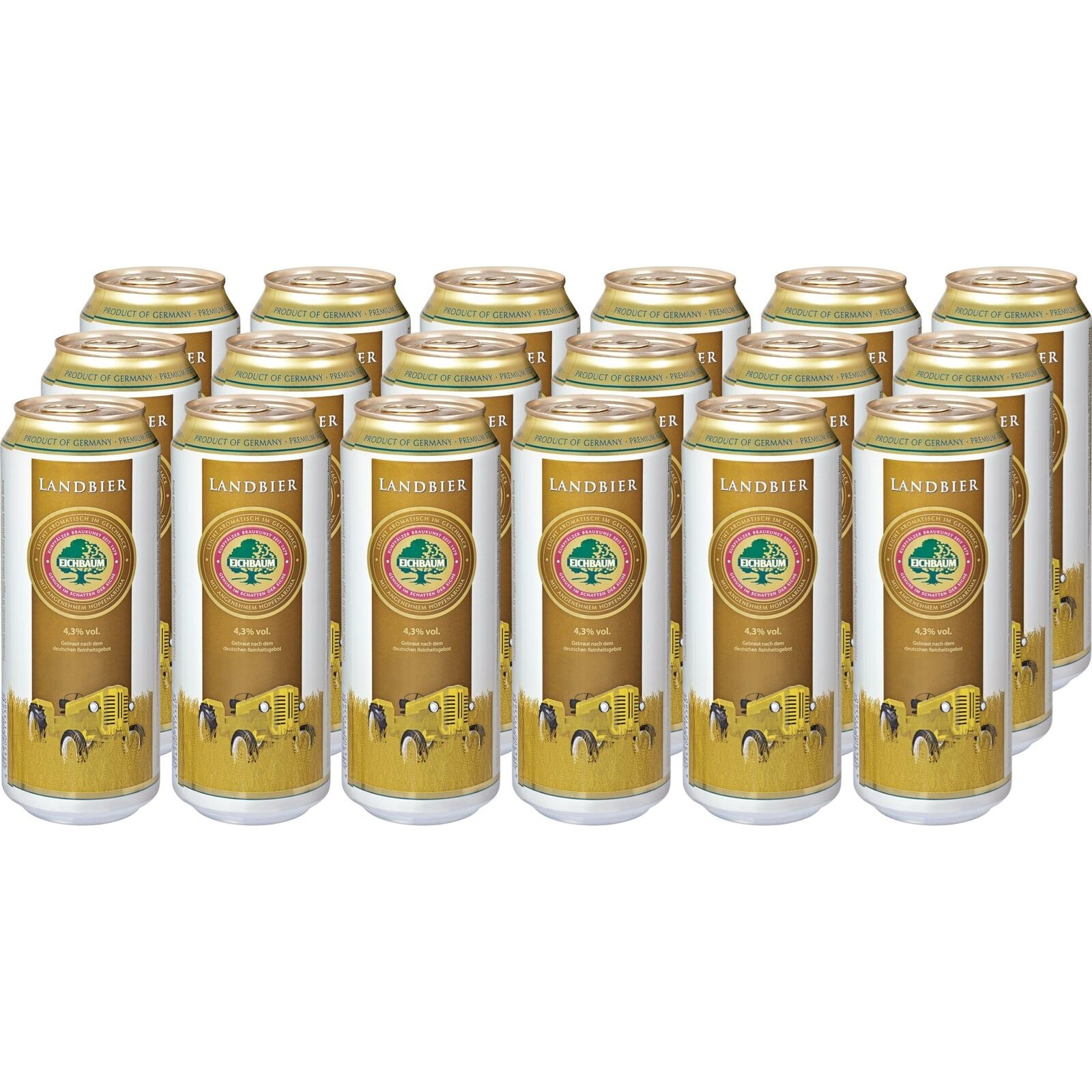 landbier eichbaum dose 18 50cl biere mit alkohol landi. Black Bedroom Furniture Sets. Home Design Ideas