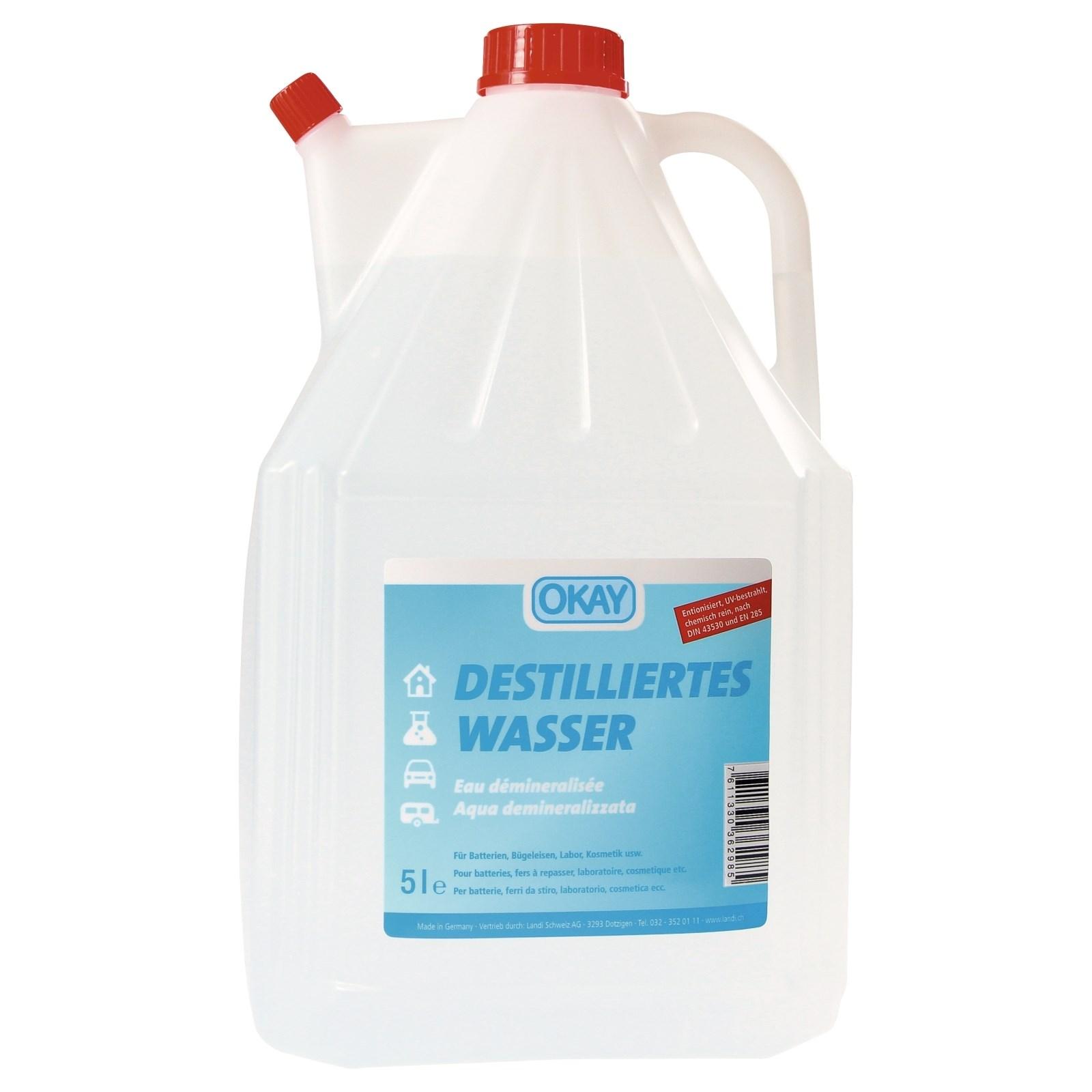 Destilliertes Wasser 5 L Auto Zubehor Landi