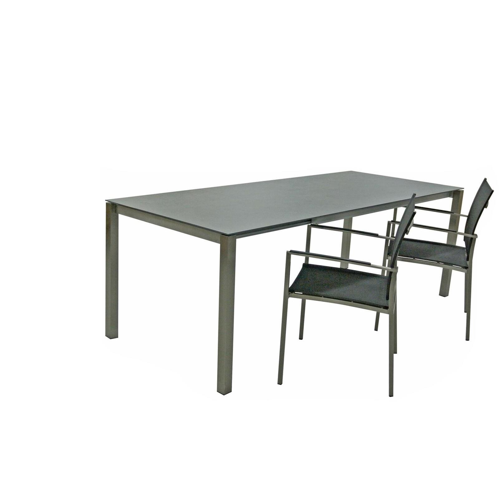 Table Rallonge Ceram 90 150 210cm Meubles D Exterieur Landi