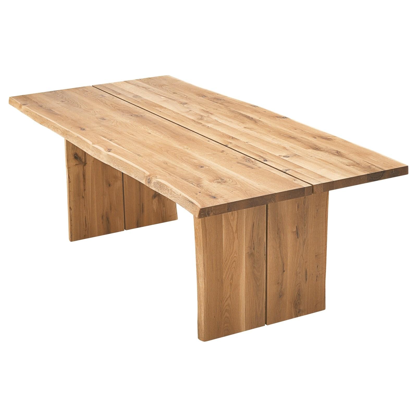 Table En Chene Massif Meubles D Interieur Landi