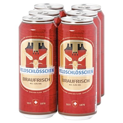 Bier Feld. Braufrisch Dose 6×50cl