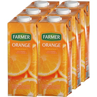 Orangensaft Farmer 6 × 100 cl