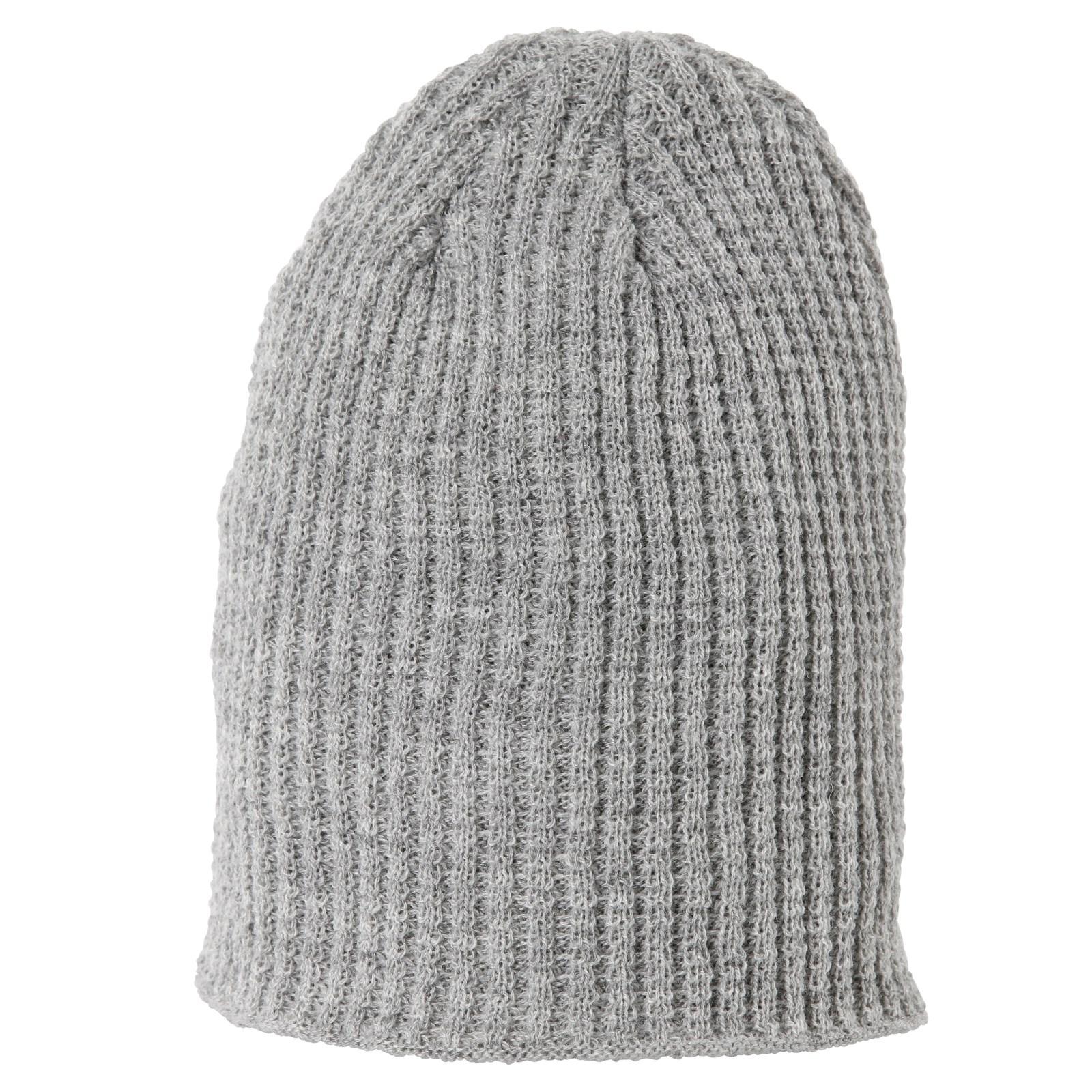 Bonnet tricoté enfants gris - Couvre-chef hiver   écharpe - LANDI 064a7f32795