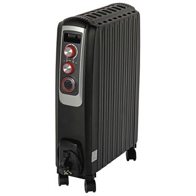 Ölradiator schwarz 2000 W