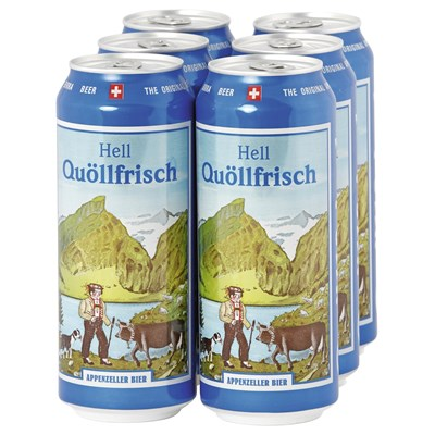 Bier Quöllfrisch Dose 6 × 50 cl