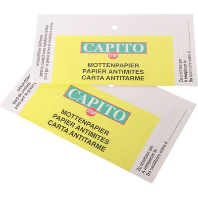 Mottenpapier Capito