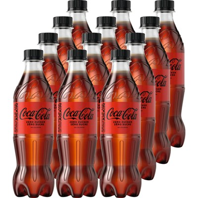 Coca-Cola Zero 12 × 50 cl