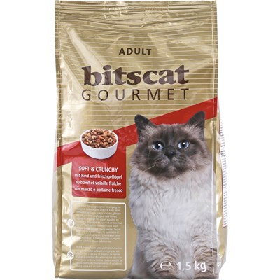 Aliment chat Gourmet soft&cr. 1,5kg