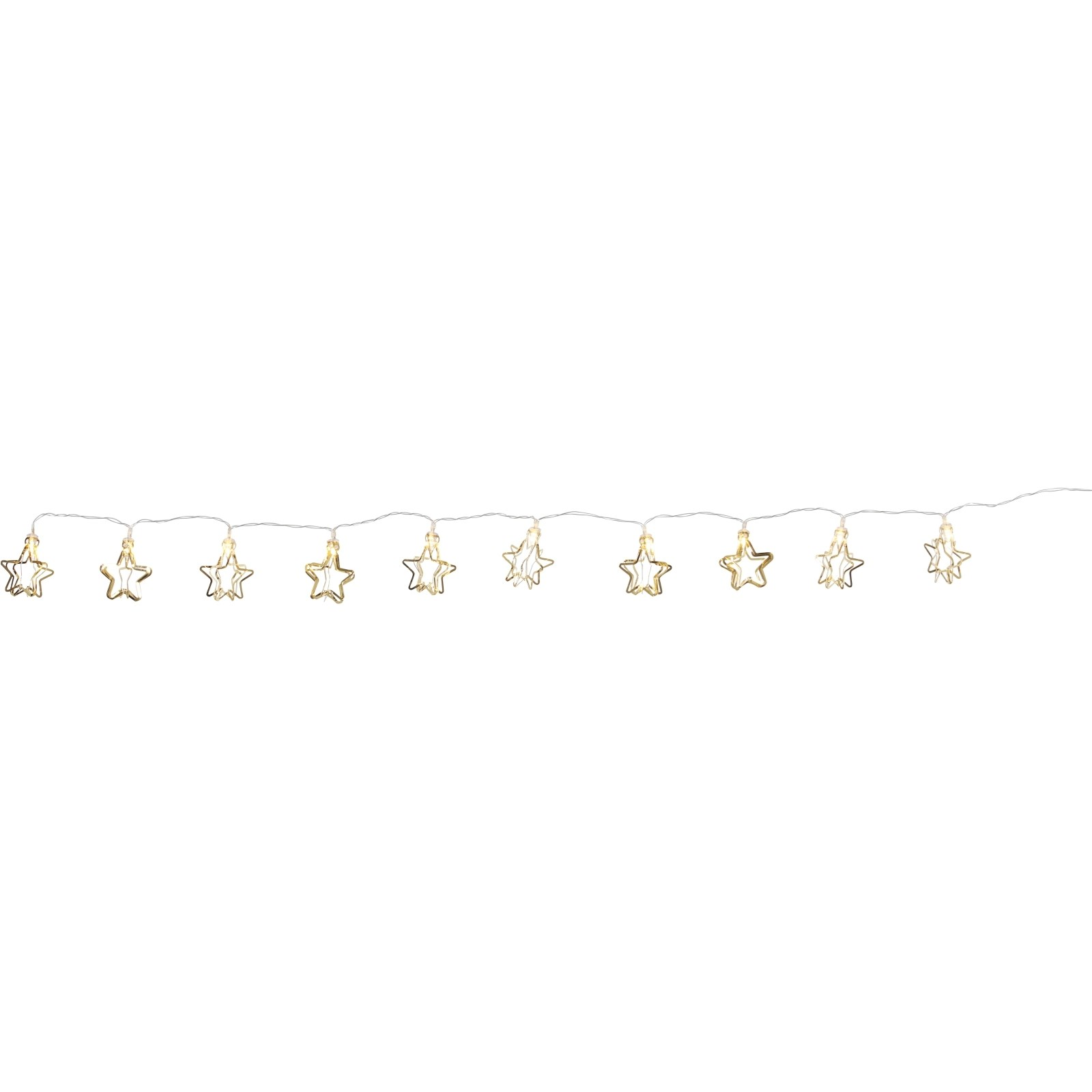 3d Weihnachtsbeleuchtung.Lichterkette Sterne Gold 3d Weihnachtsbeleuchtung Landi