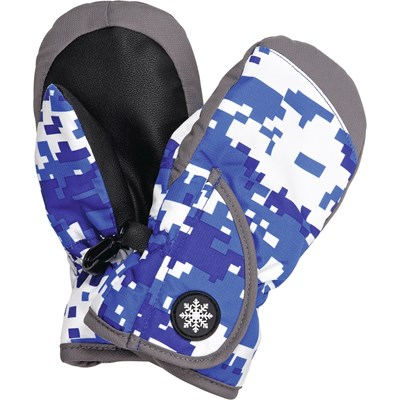 Fausthandschuh Baby blau 1