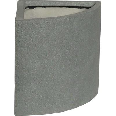 Ecktopf Poly granite 37×27×30cm