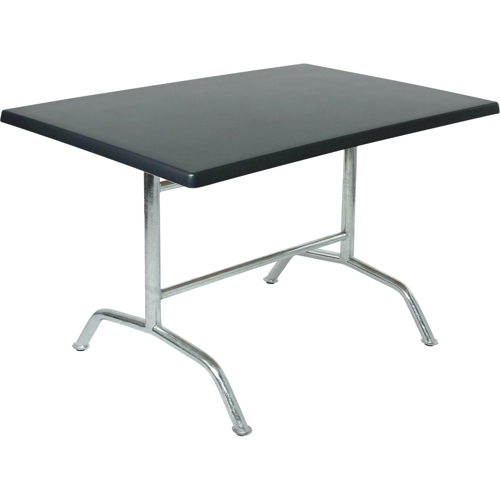 Tisch Topalit Anthrazit 120 80cm Kaufen Outdoormobel Landi