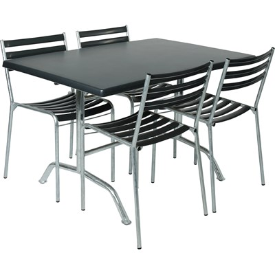 Table topalit. anthracite 120×80cm