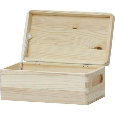 Holzkiste 1 mit Deckel