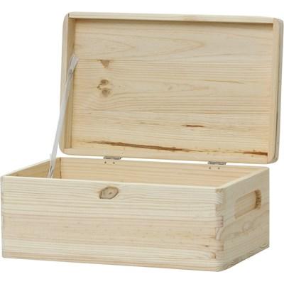 Holzkiste 2 mit Deckel