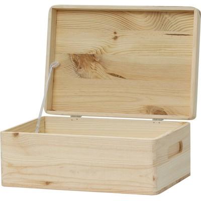 Holzkiste 3 mit Deckel
