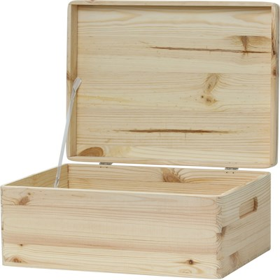 Holzkiste 4 mit Deckel