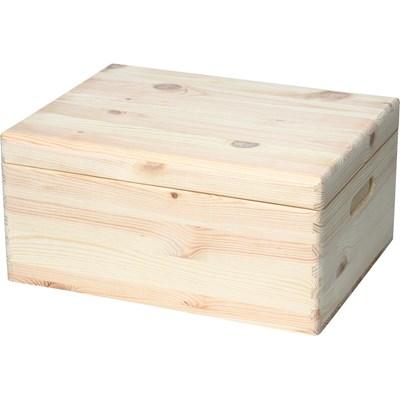 Holzkiste 5 mit Deckel