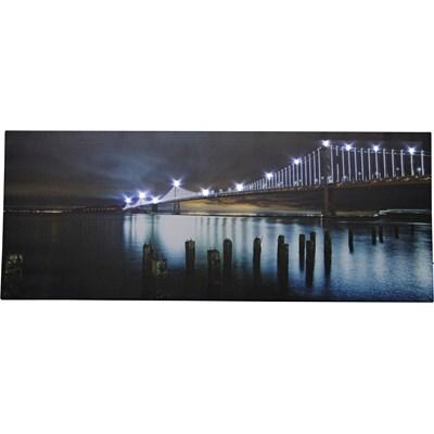 Bild LED Landschaft/Stadt