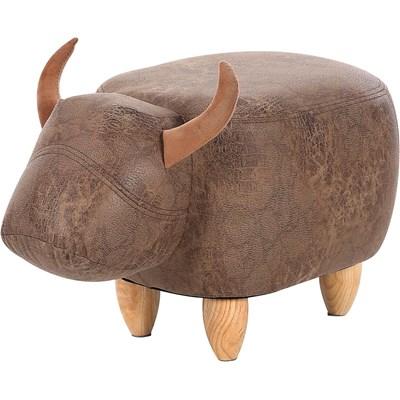 Hocker Kuh 62 × 34 × 36 cm