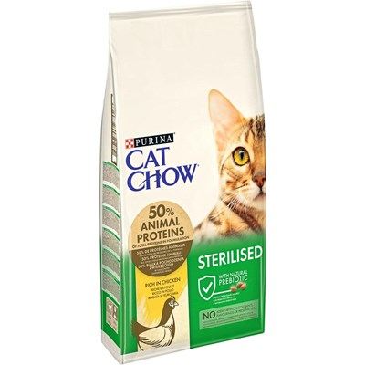 Aliment chat Steri. CatChow 10kg