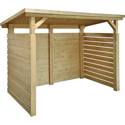 Unterstand Holz 214 × 122 × 206 cm