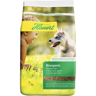 Biorganic Rasendünger HBG 5kg