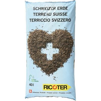 Schweizer Erde Ricoter 40 l